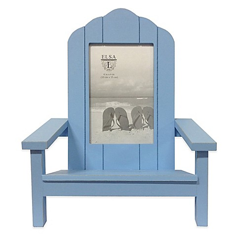 Elsa l coastal 4 inch x 6 inch adirondack chair picture frame - Adirondack bed frame ...