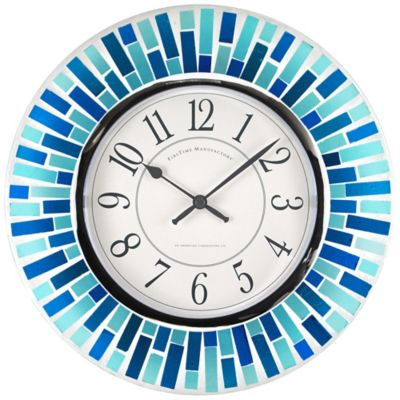 Blue Clock Wall Clocks