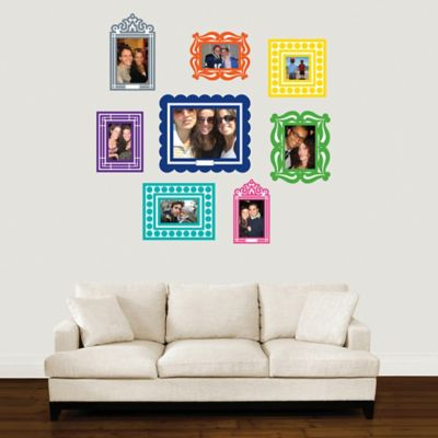 Butch & Harold Sticker Frame Set in Multi (Set of 8)