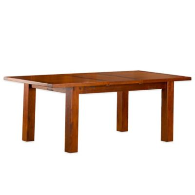 Hillsdale Outback Dining Table with Leaf in Chestnut