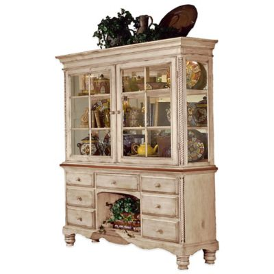 Hillsdale Wilshire Buffet and Hutch in White
