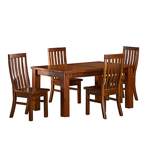 Hillsdale Outback 5 Piece Dining Set With Leaf Bed Bath Beyond