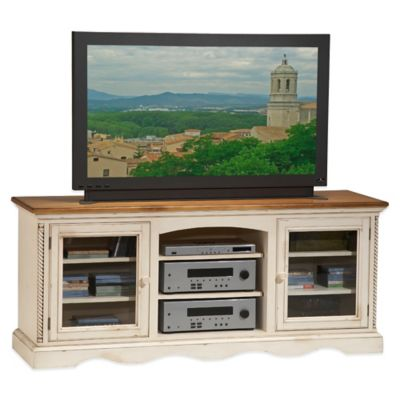 Hillsdale Wilshire Entertainment Console in White