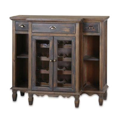 Uttermost Suzette Wine Cabinet