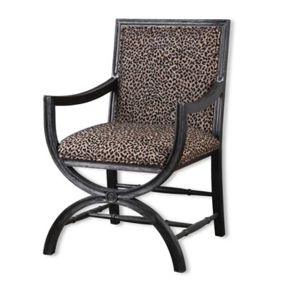 Uttermost Cyerra Safari Accent Chair