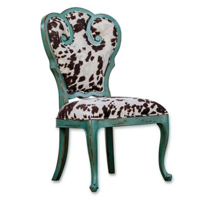 Uttermost Chahna Velvet Accent Chair
