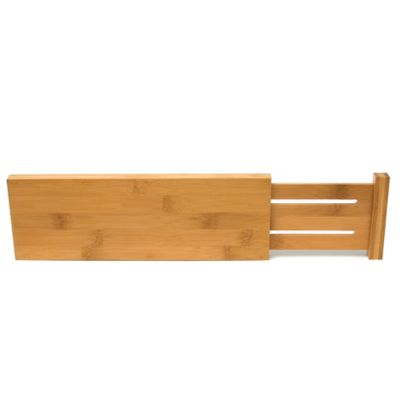 Lipper Bamboo Dresser Drawer Dividers (Set of 2)