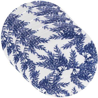 Caskata Studio Cedar Blue Melamine Dinner Plate