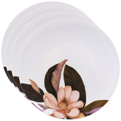 Caskata Studio Magnolia 4-Piece Dinner Plate Set