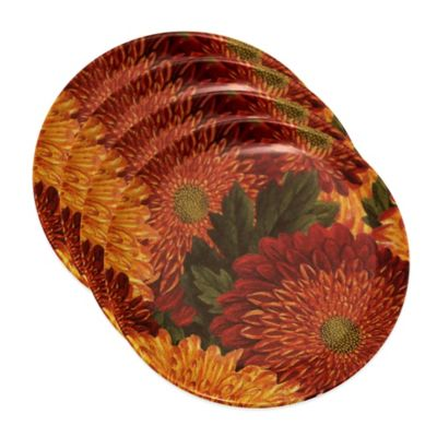 Orange Red Dinnerware Sets