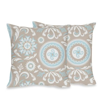 Sweet Jojo Designs Hayden Decorative Throw Pillows (Set of 2)