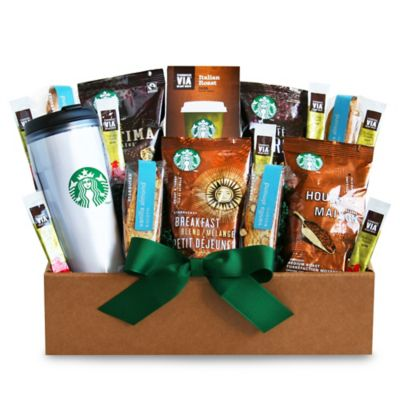 Starbucks® Get Up and Go Box