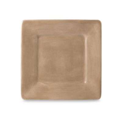 Tabletops Unlimited® Misto 8-Inch Square Salad Plate in Light Taupe
