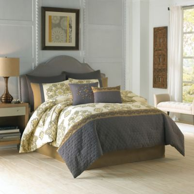 Taupe Multi Comforter Set