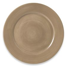 Tabletops Unlimited™ Misto 11-Inch Round Dinner Plate in Light Taupe