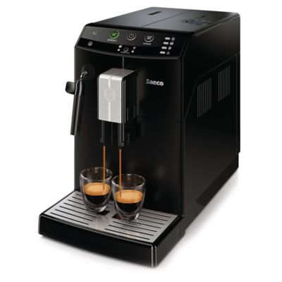 Philips Saeco Pure HD8765/47 60 oz. Automatic Espresso Machine in Black