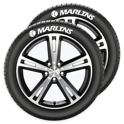 MLB Miami Marlins Tire Tatz