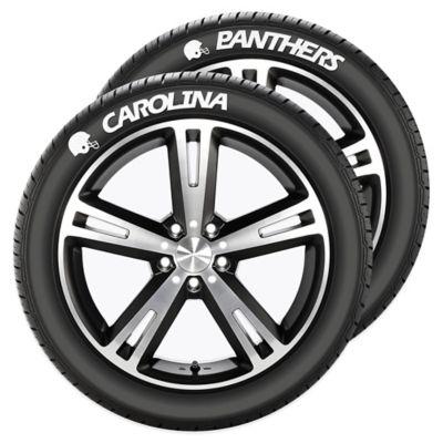 NFL Carolina Panthers Tire Tatz