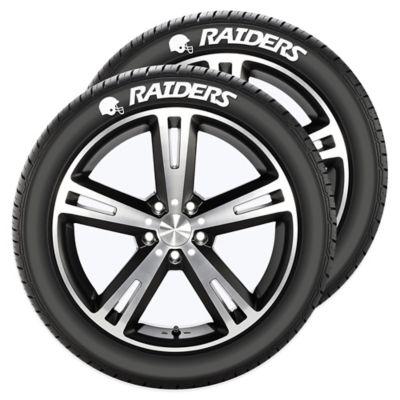 NFL Oakland Raiders Tire Tatz