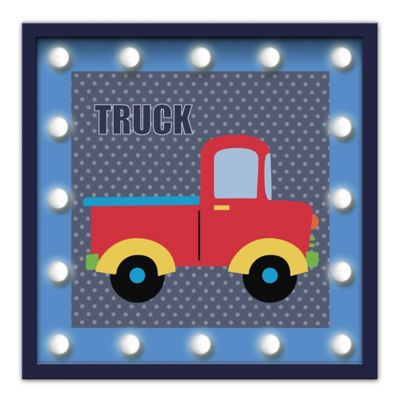 Design House LA Framed Pickup Truck Light-Up Sign