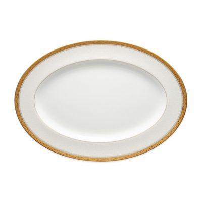 Noritake® Odessa Gold 16-Inch Oval Platter