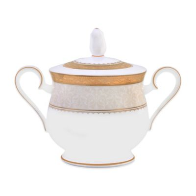 Odessa Gold Covered Sugar Bowl