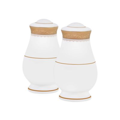 Noritake® Odessa Gold Salt and Pepper Shakers