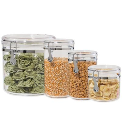 Acrylic Canisters