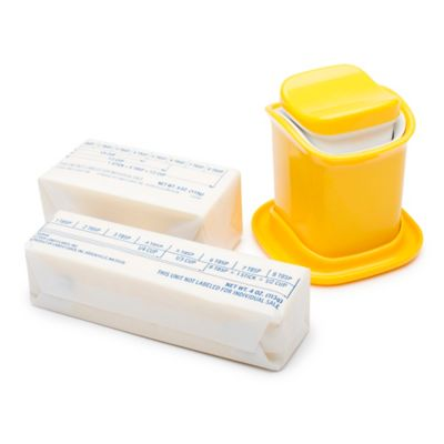 Zak! Designs® Butter Applicator in Yellow