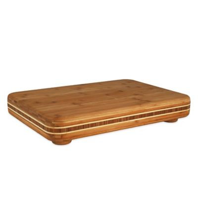 Totally Bamboo 19-Inch x 13-Inch Big Easy Cutting Board