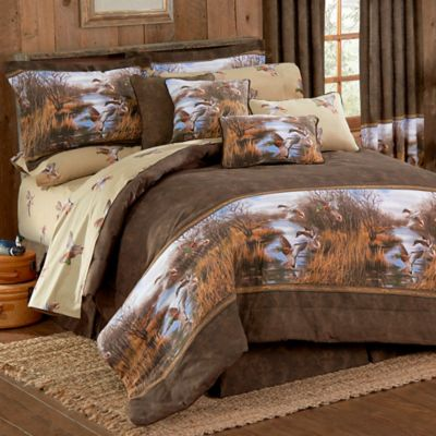 Duck Approach Full Comforter Set