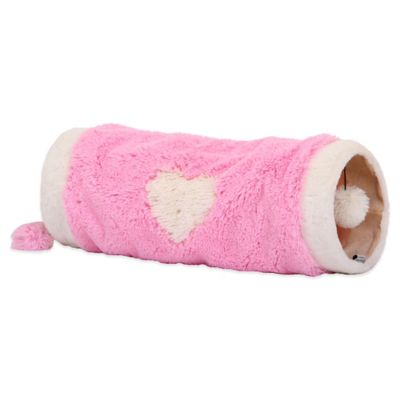 Petpals Furry Fun Pink Cat Tunnel