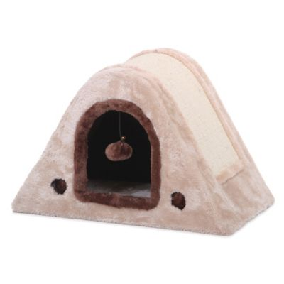 Pet Pals Horseshoe Scratching Box