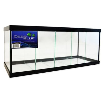 Deep Blue Professional 2.3-Gallon 5-Way Betta Tank with Black Frame
