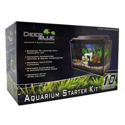 10-Gallon Aquarium Starter Kit