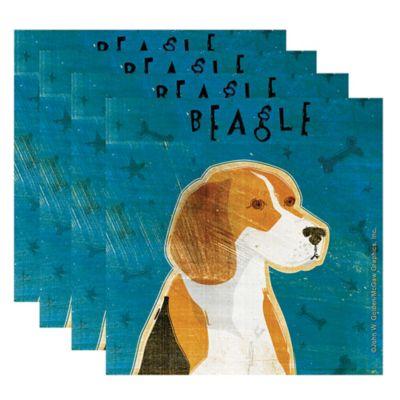 "Thirstystone® ""Beagle"" Coasters (Set of 4)"