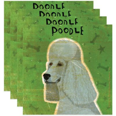 "Thirstystone® ""Poodle"" Coasters (Set of 4)"