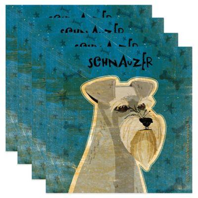 "Thirstystone® ""Schnauzer"" Coasters (Set of 4)"