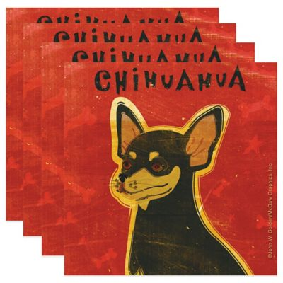 "Thirstystone® ""Chihuahua"" Coasters (Set of 4)"