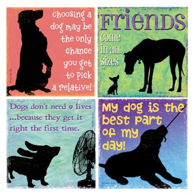 Thirstystone® Friends Come In All Sizes Coasters (Set of 4)
