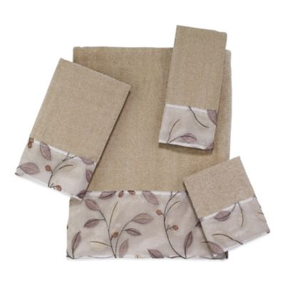 Cotton Floral Bath Towels