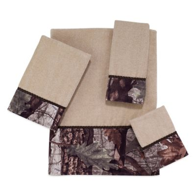 Avanti Wilderness Washcloth in Beige
