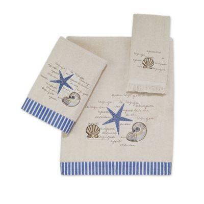 Avanti Ivory Washcloth