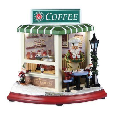 Roman Snowbucks Coffee Shop Musical Figure