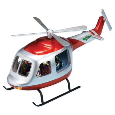 Christmas Helicopter Decorations