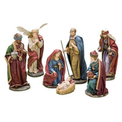Roman 7-Piece Textured Nativity Scene