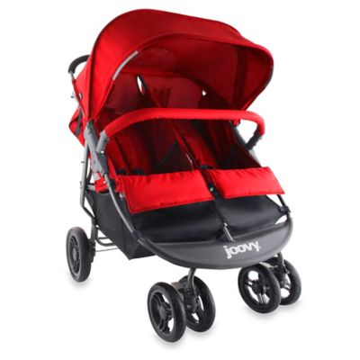 Joovy® ScooterX2 Double Stroller in Red