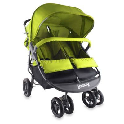 Joovy® ScooterX2 Double Stroller in Greenie
