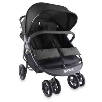 Joovy® ScooterX2 Double Stroller 15 in Black