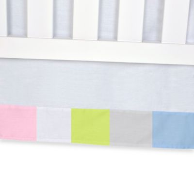 Carter's® Mix & Match Solid Crib Skirt in White